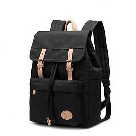 Рюкзак канвас черный P16S26-4-BK