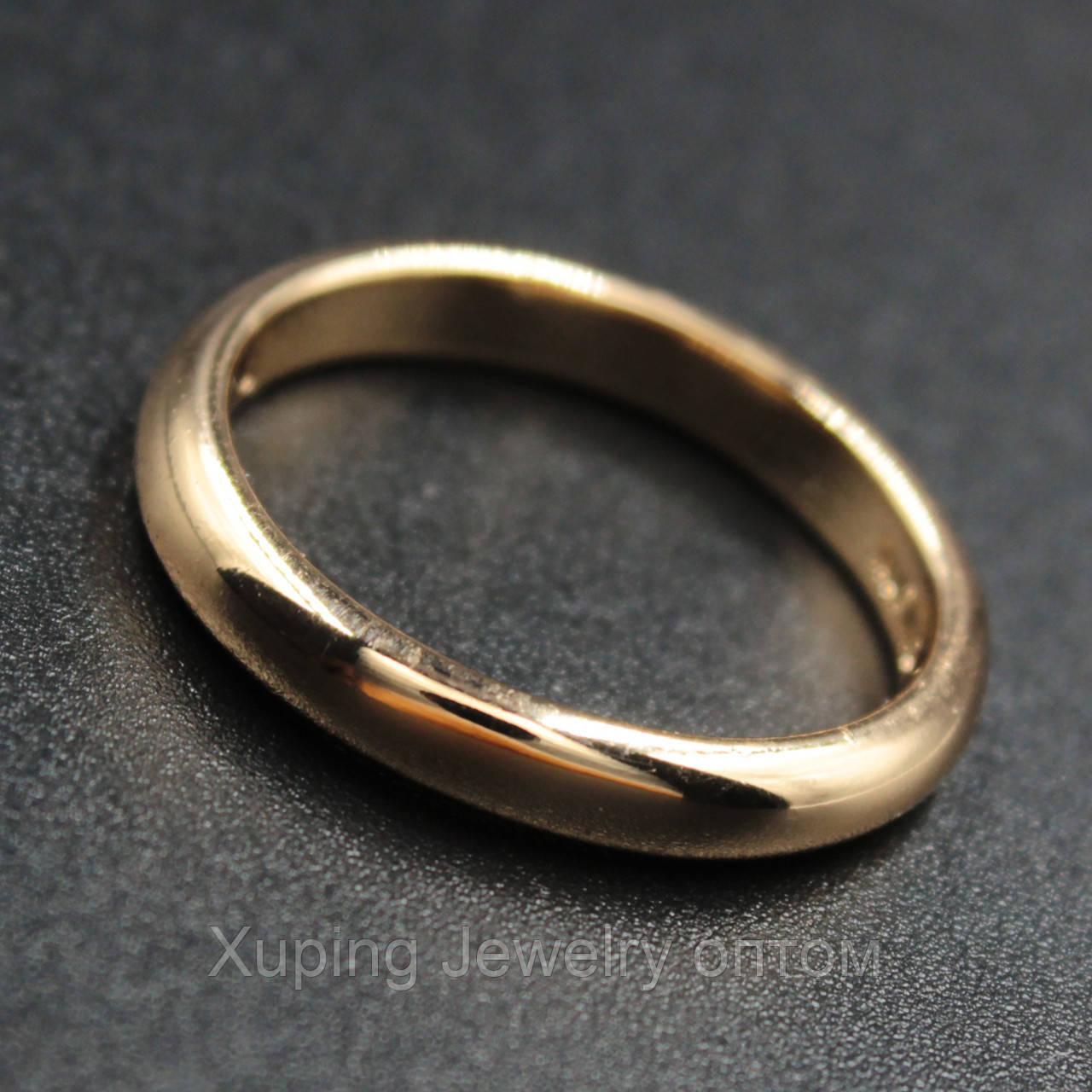 Кольцо обручальное Xuping Jewerly 18kR 035