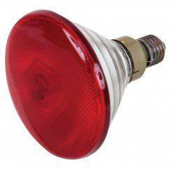 Інфрачервона лампа InterHeat з пресованого скла 175W лампа икзк, инфракрасные лампы для птиц