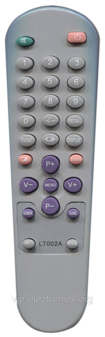 Пульт Orion LT-002A, SPP1419 (TV) (CE)