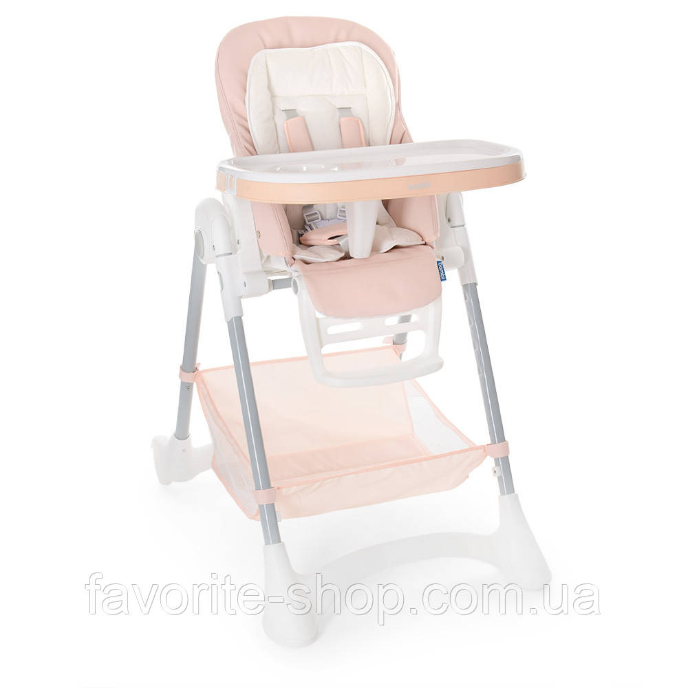 Детский cтульчик-трансформер для кормления M 3569-13 розовый
