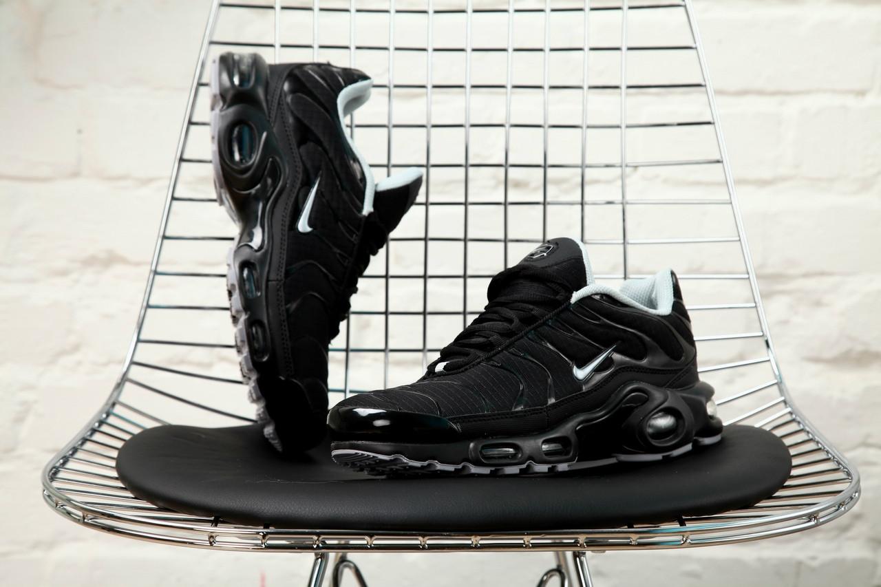 Мужские кроссовки Nike Air Max Tn + Black/White
