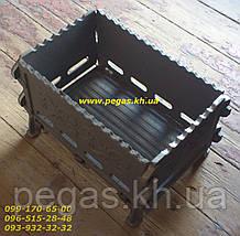 Мангал чавунний розбірної 410х260, гриль, барбекю, чавунне литво