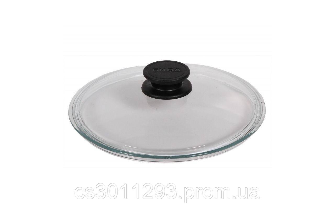 Крышка стеклянная Биол - 180 мм, низкая
