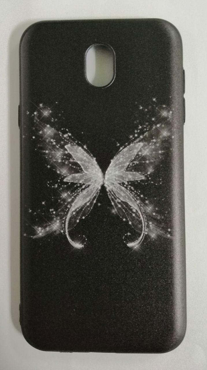 Силикон для Samsung J730 3D Batterfly