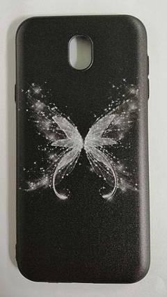 Силикон для Samsung J730 3D Batterfly, фото 2