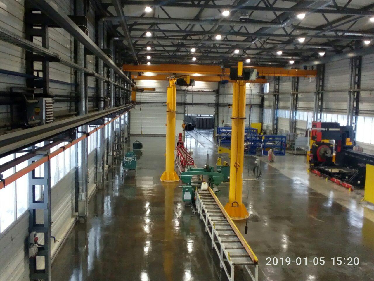 Ремонт промислових наливних бетонних підлог знепилювання зміцнення