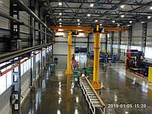 Ремонт обеспыливание упрочнение промышленных наливных бетонных полов