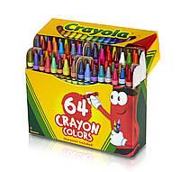 Crayon цветные восковые карандаши, в наборе 64 штук, Crayola (Крайола)
