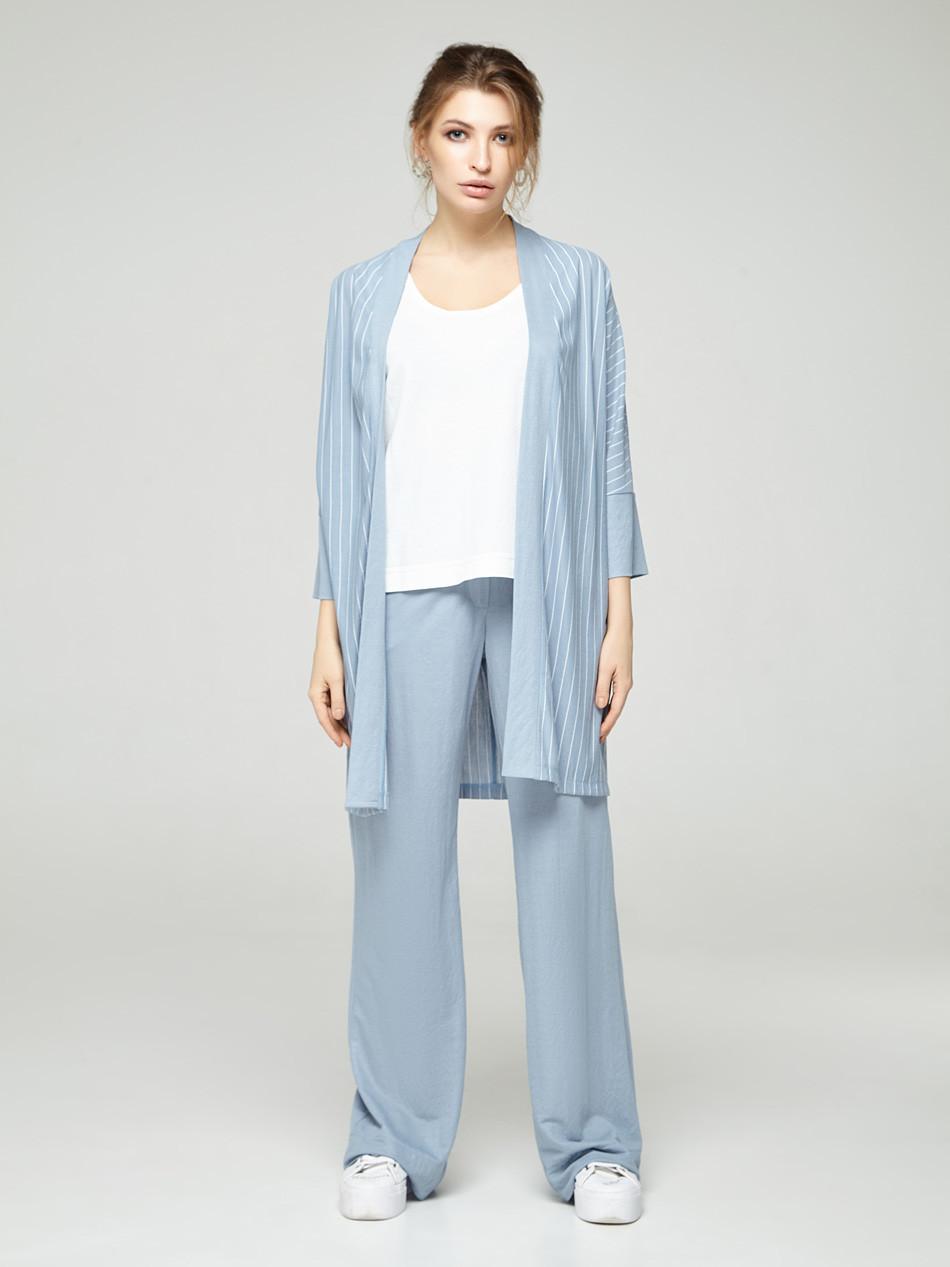 2160 костюм 3-ка брюки Таура, голубой (S)