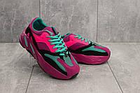 Женские кроссовки текстильные весна/осень розовые Aoka B 018, фото 1