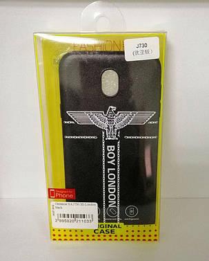 Чехол силиконовый для Samsung (J730) London 3D, фото 2