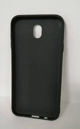 Чехол силиконовый для Samsung для J7 2017 J730 Logo Black, фото 2