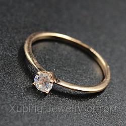 Кольцо помолвочное Xuping Jewerly 18k R042