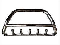 Защита переднего бампера (кенгурятник) Hyundai Santa Fe 2002-2006