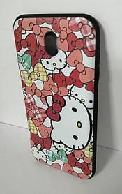 Силиконовый чехол для Samsung J730 3D Kitty