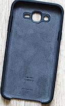 Силикон для Samsung J7/J700/J701 Black Soft Touch, фото 3