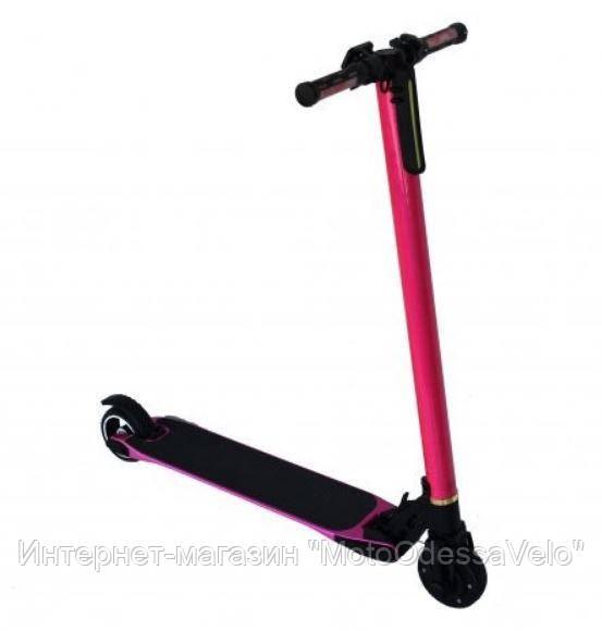 Электрический самокат Volta Smart Carbon pink