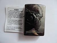 """Зажигалка ZIPPO «Transformers"""". Бензиновая оригинальная Зиппо."""