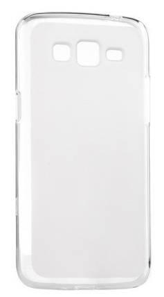 Силиконовый чехол для Samsung J7/J700/J701 White 0.3mm, фото 2
