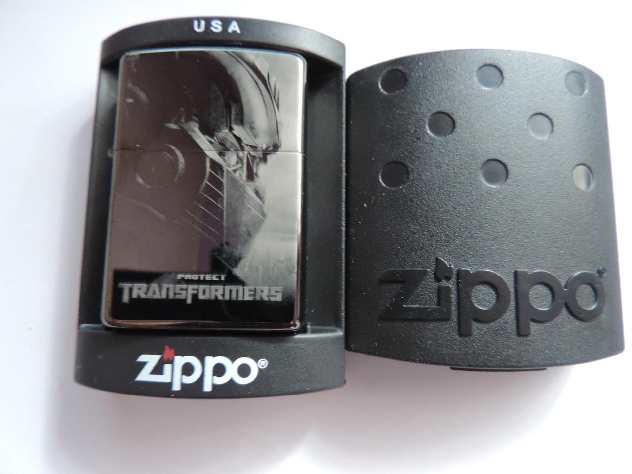 "Зажигалка ZIPPO «Transformers"" копия"