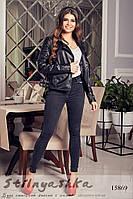 Куртка эко-кожа черная, фото 1