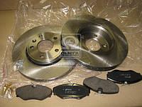 ⭐⭐⭐⭐⭐ Комплект тормозной передний НИССАН PRIMASTAR 01-,OPEL VIVARO 06- (производство  REMSA) НИССАН, 8834.01