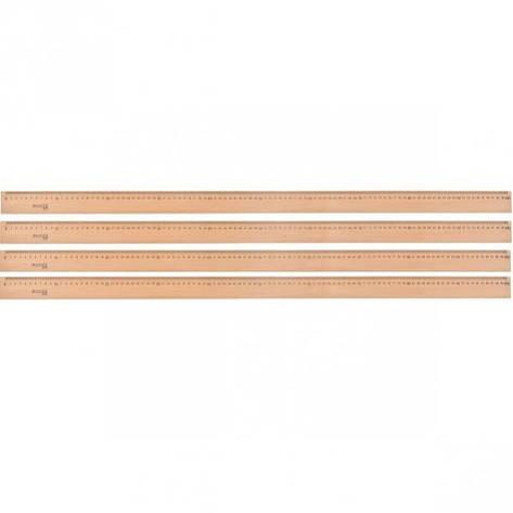 Линейка деревянная 100см, фото 2