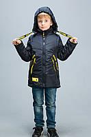 Весенняя куртка трансформер для мальчика 116-140р