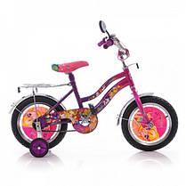 """Детский двухколесный велосипед Mustang Winx 14"""" фиолетовый"""