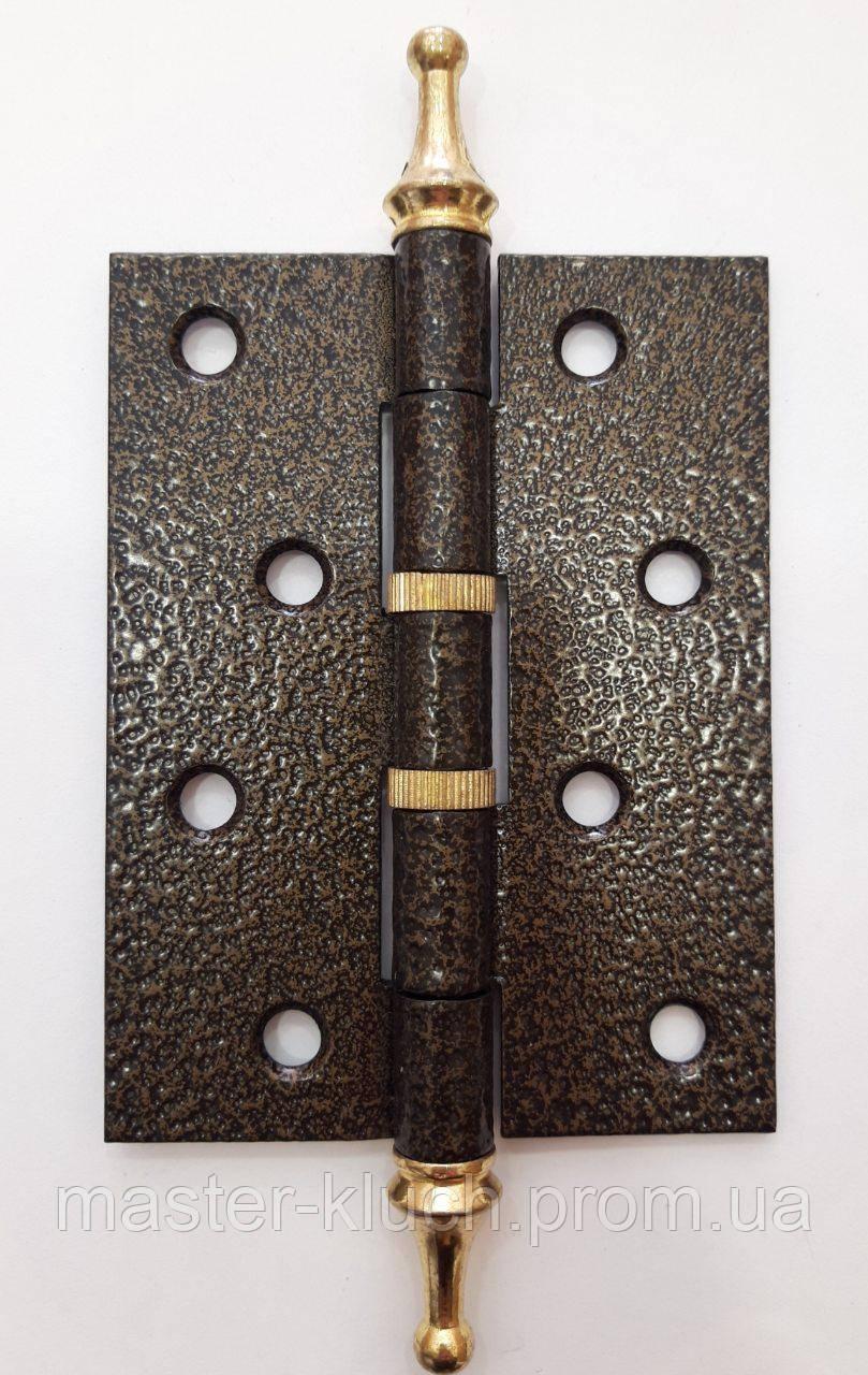 Петли дверные универсальные GCC 100х75х2,5 бронза