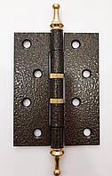 Петли дверные универсальные GCC 100х75х2,5 бронза, фото 1