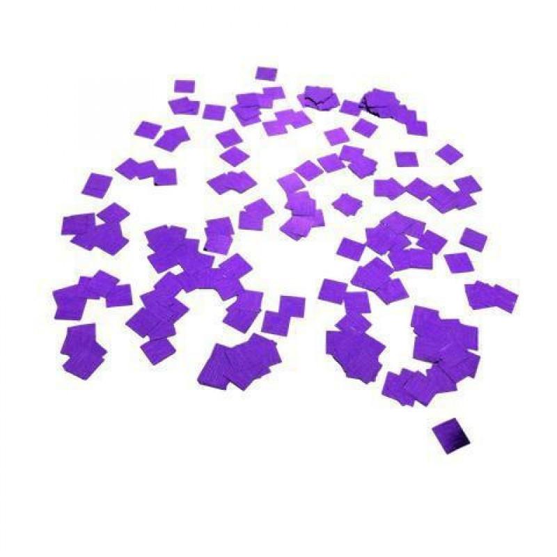 Конфетти Квадратики, Фиолетовые, 500 гр