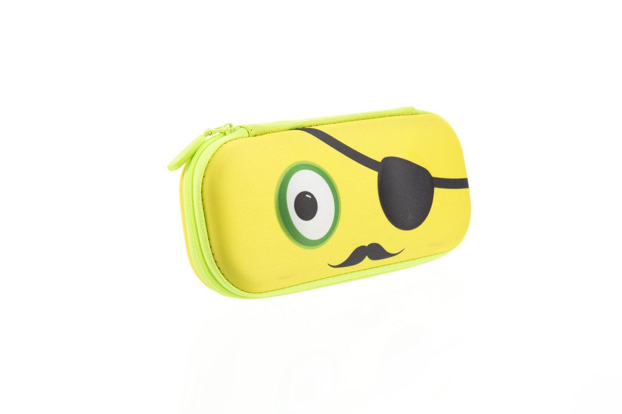 Пенал ZIPIT BEAST BOX, цвет YELLOW (желтый)