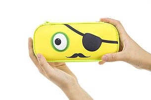 Пенал ZIPIT BEAST BOX, цвет YELLOW (желтый), фото 2
