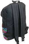 Молодежный рюкзак PASO 12L, 00-220PAN разноцветный, фото 6
