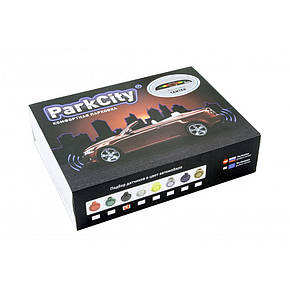 Парктроник ParkCity Center 418/102 LW серебро, фото 2