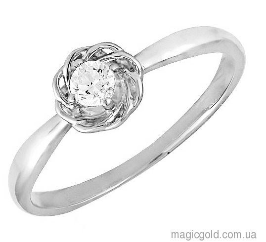 Кольцо из белого золота Изабель
