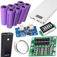 Аккумуляторы, Power bank, 18650 контроллеры, зарядные устройства