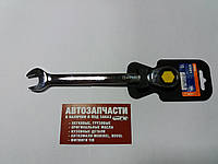 Ключ рожково-накидной с трещоткой на 15 Miol