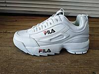 Женские белые кроссовки FILA 36-41 р-р 38