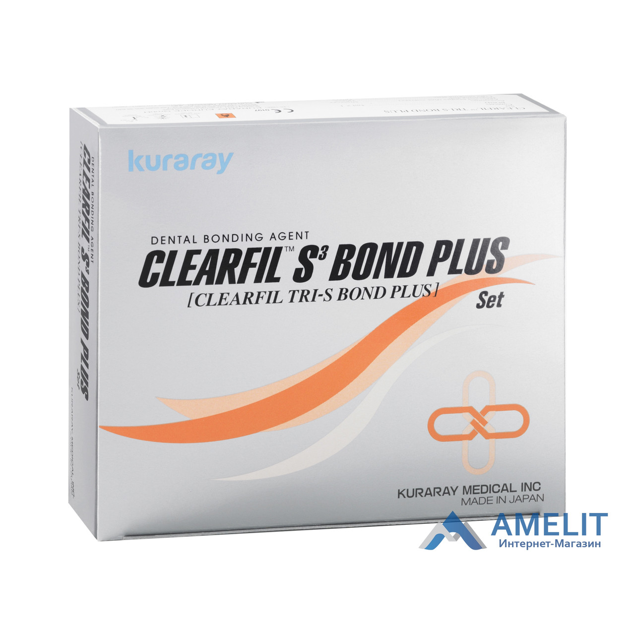 Клирфил C3 бонд плюс ( CLEARFIL TRI-S BOND PLUS,  Kuraray Noritake Dental Inc.), флакон 4мл, фото 1