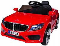 Электромобиль детский M5 с пультом управления красный
