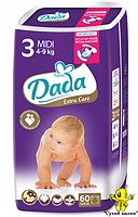 Підгузники Dada Extra Care 3 (60 шт.) 4-9 кг  - CM00021