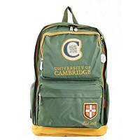 Рюкзак подростковый YES  CA 082, зеленый, 31*46*15 (554134)