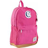 Рюкзак подростковый YES  CA 087, розовый, 30*47*14 (554059)
