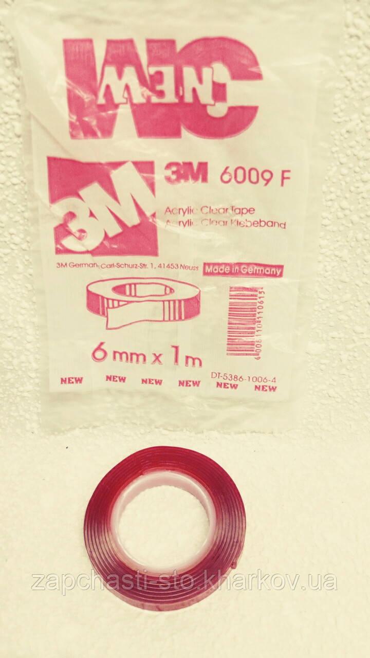 Двухсторонний силиконовый скотч 3M 6ммХ1м (прозрачный)