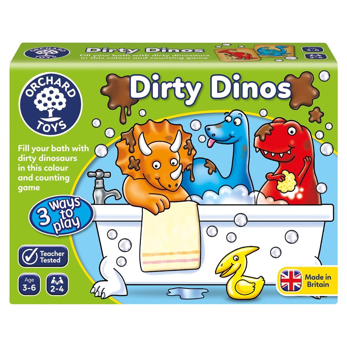 "Настільна гра ""Искупай динозавра"" Orchard Toys"