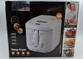 Фритюрница DSP KB2009 2,5 л / 1800 Вт техника для кухни фритюрница с антипригарным покрытием