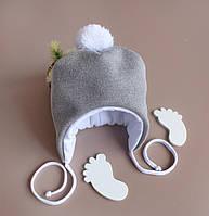 Демисезонная шапочка Noble для малышей 0-3 месяца